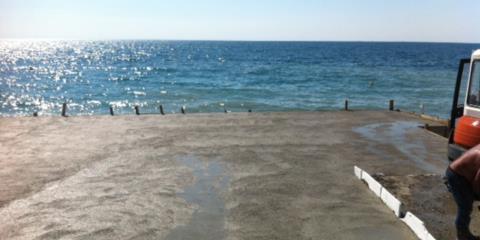 caldana gettata Trieste