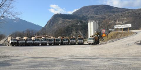 Impianto calcestruzzo Tolmezzo