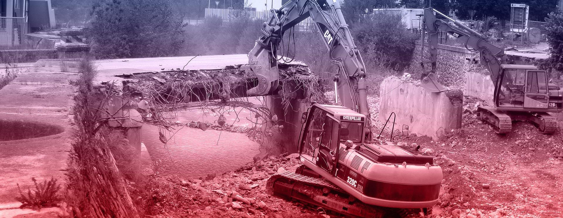 Lavori di demolizioni