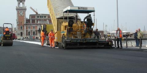 Manutenzione e pavimentazione strade