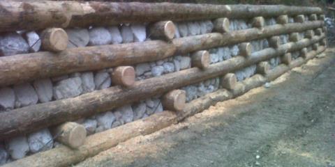 opere in legname e pietrame Rio Souris