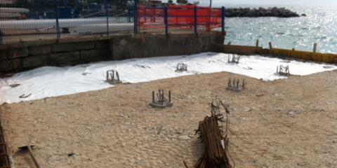 posa geotessuto Trieste