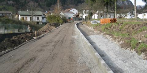 Realizzazione strada in comune di Raveo