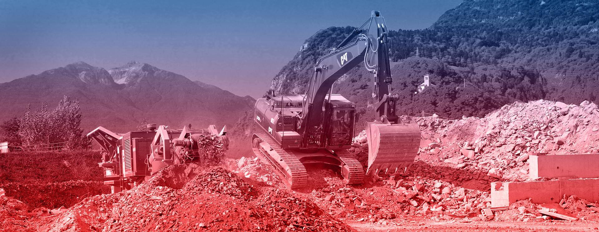 Riciclaggio materiali da demolizioni