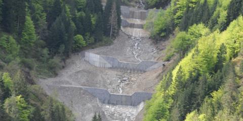 Sistemazione idraulica Rio Pirgler Pontebba