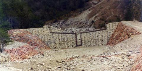 Sistemazione idraulica Rio Rugoni Vito D'Asio