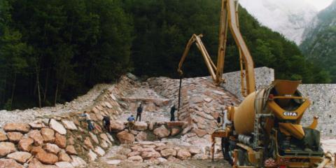 Sistemazione idraulica Rio Rugoni Vito D'Asio 1