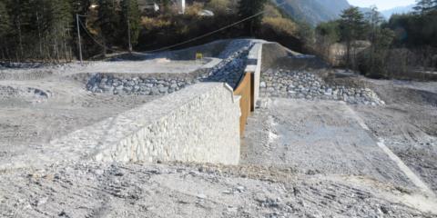 Sistemazione idraulica Rio Uccelli Pontebba