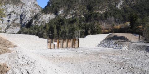 Intervento di protezione civile sistemazione idraulica Pontebba