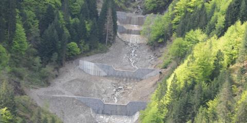 Rio Pirgler nel Comune di Pontebba