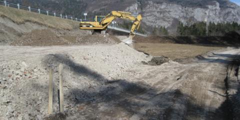 Lavori di adeguamento del piano viabile tra Villa S. ed Enemonzo